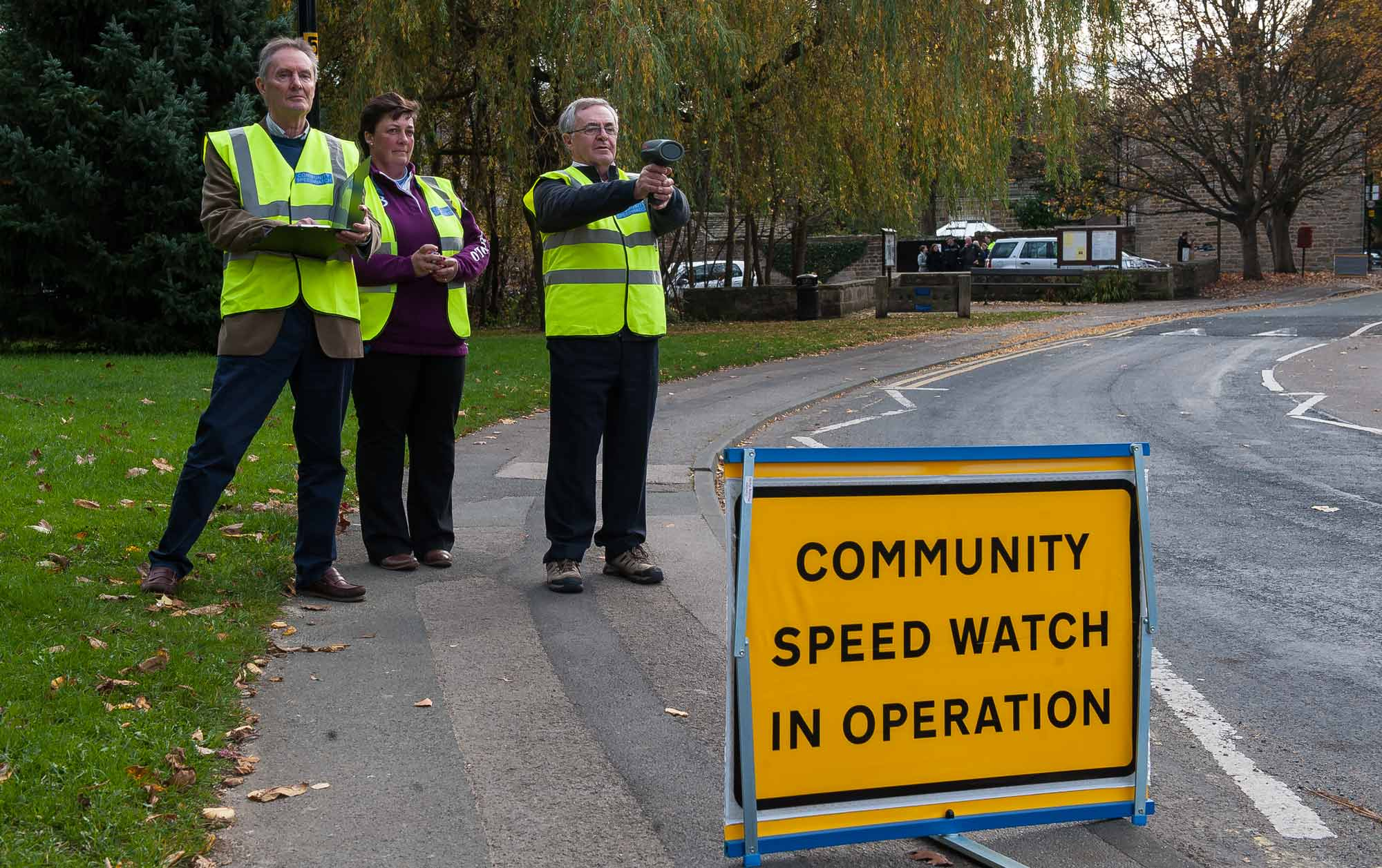 The Pannal Community Speed Watch Team