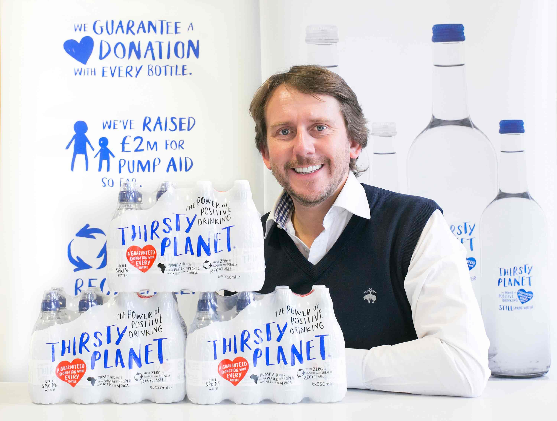 Harrogate Water managing director James Cain OBE
