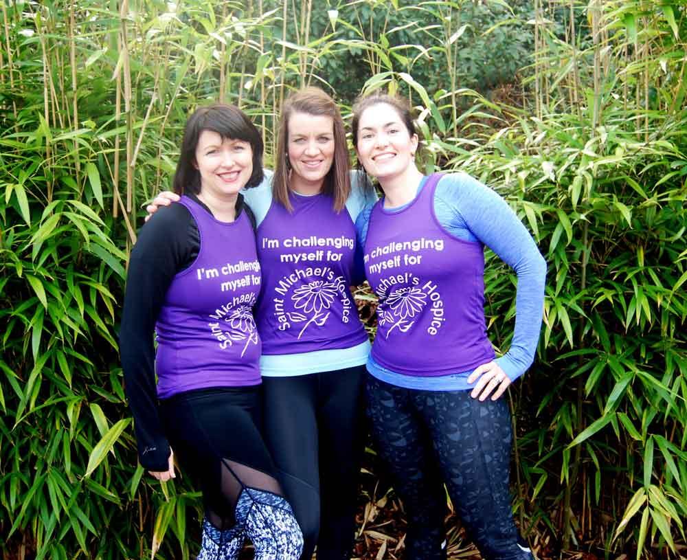 Aimee Dixon, Vicky Hogg and Jayne Dale