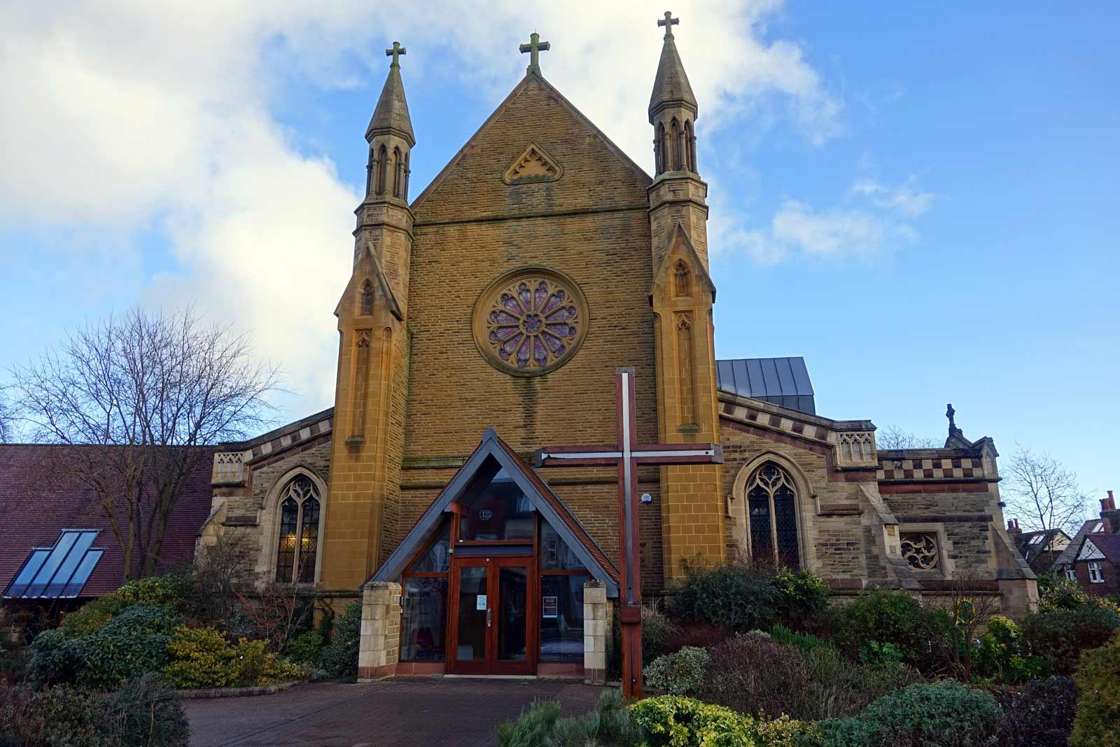St Mark's Church, Leeds Road in Harrogate.