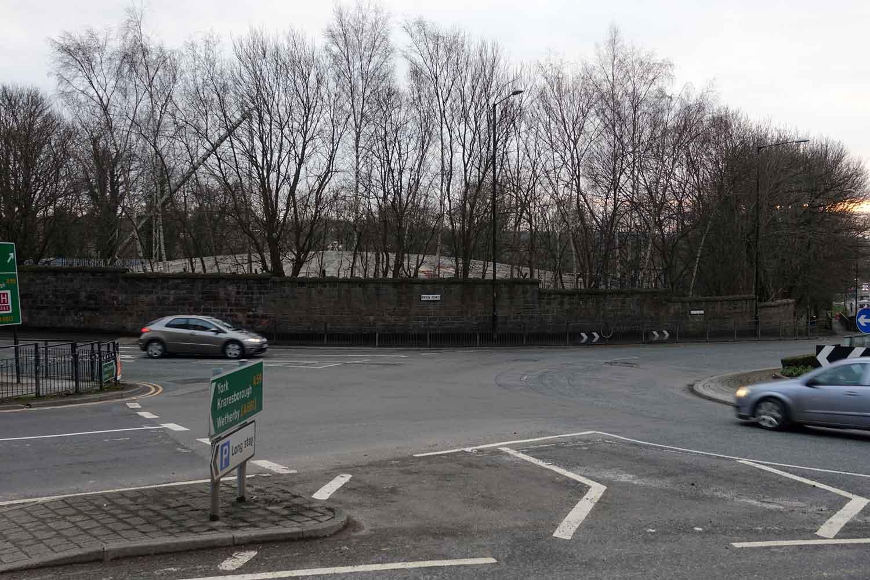 New Park roundabout