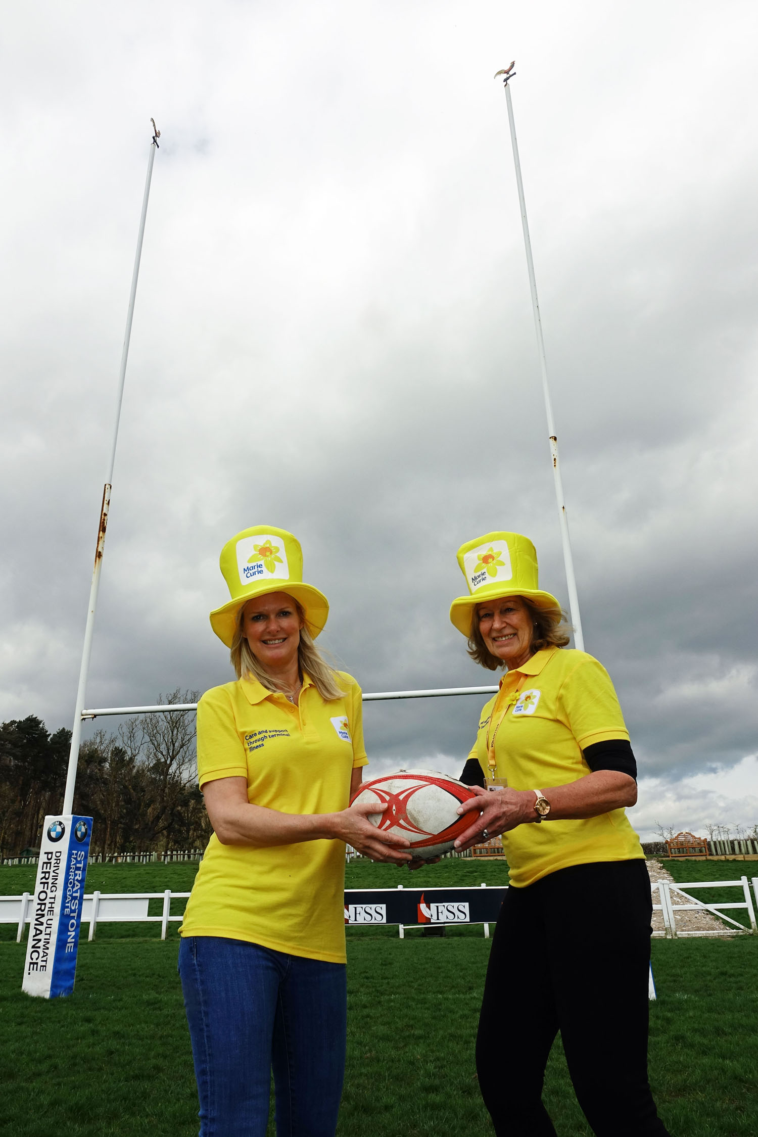 Nicola Appleton and Jo Finnegan - Harrogate Marie Curie Fundraising Group