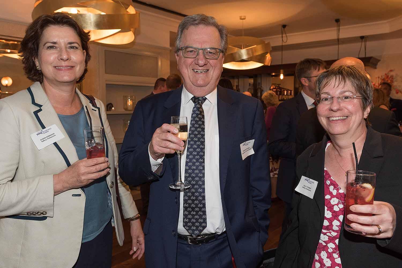 Alison Robinson, Graham Strugnell and Sally Thomas