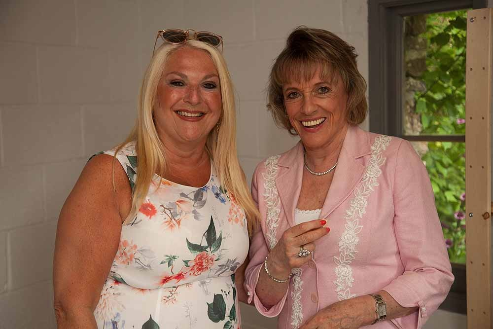 Vanessa Feltz and Esther Rantzen