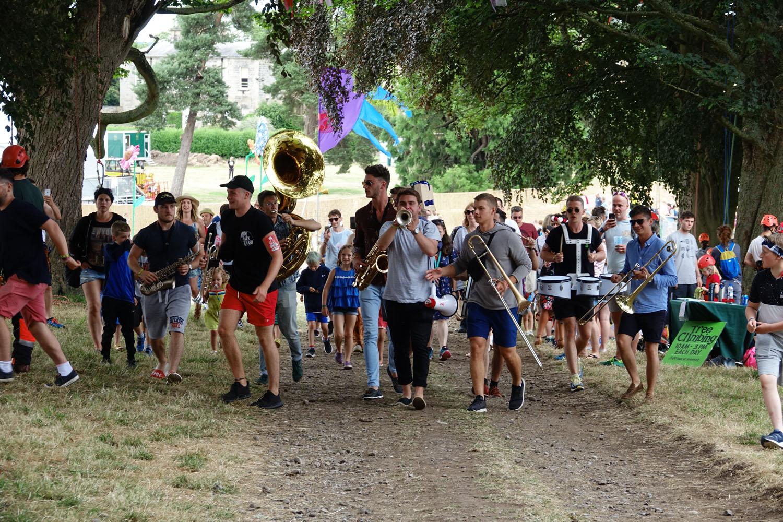 Hyde Park Brass at Deer Shed Festival 2018