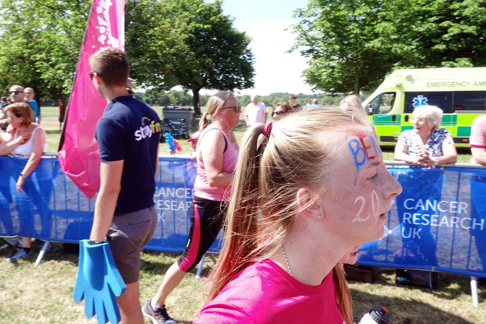 race for life Harrogate cancer research
