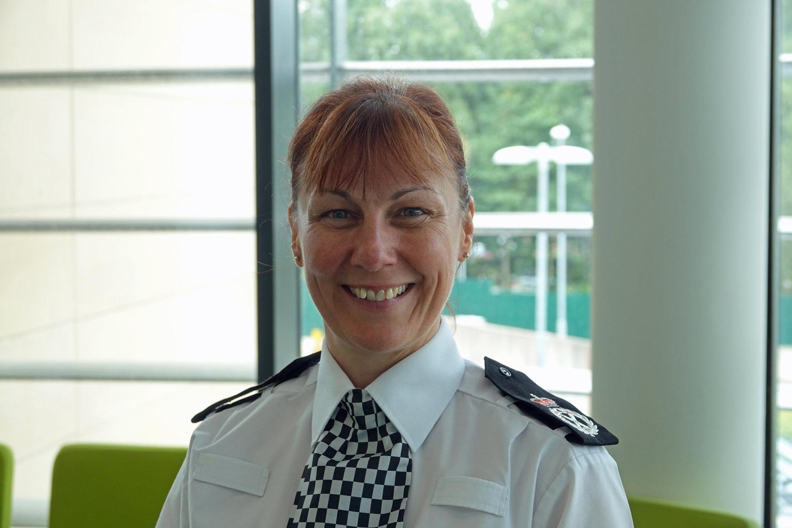 Chief Constable Lisa Winward, North Yorkshire Police