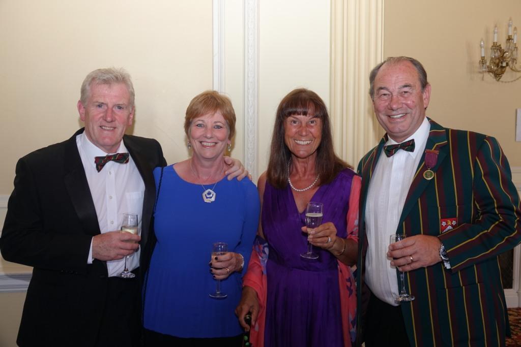 David Fallow, Helen Fallow, Jane Hanson and Mark Hanson