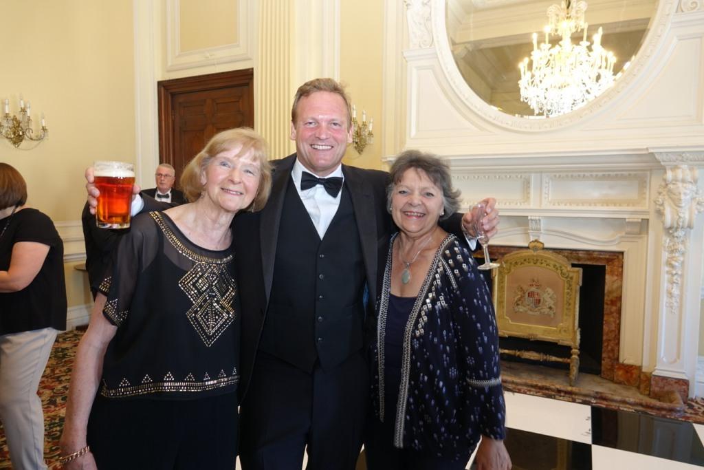 Gwen Goodhall, Andy Booth and Carol Mann