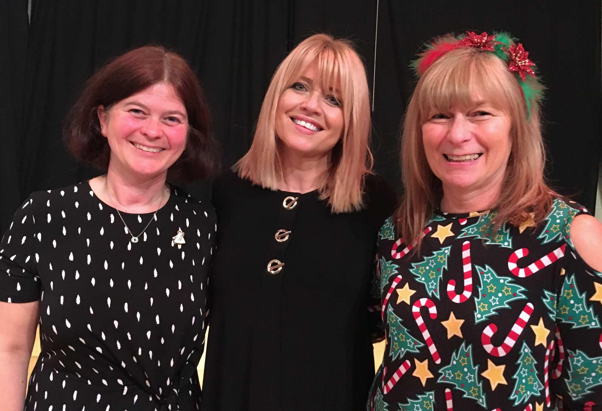Emilie Moon, Christine Talbot and Helen Leaf