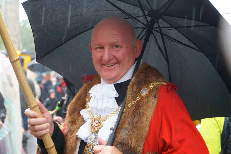 The Mayor of Harrogate, Cllr Stuart Martin MBE