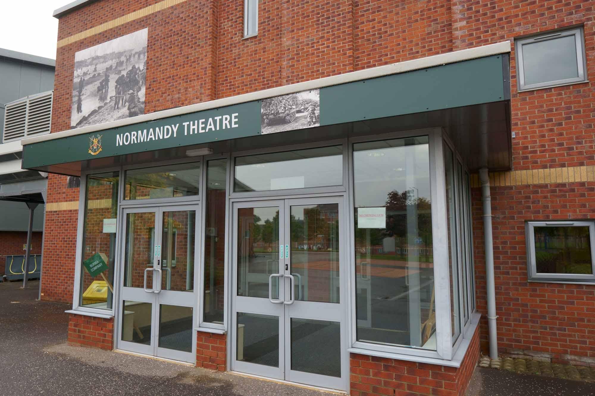 Normandy Theatre, Army Foundation College, Harrogate