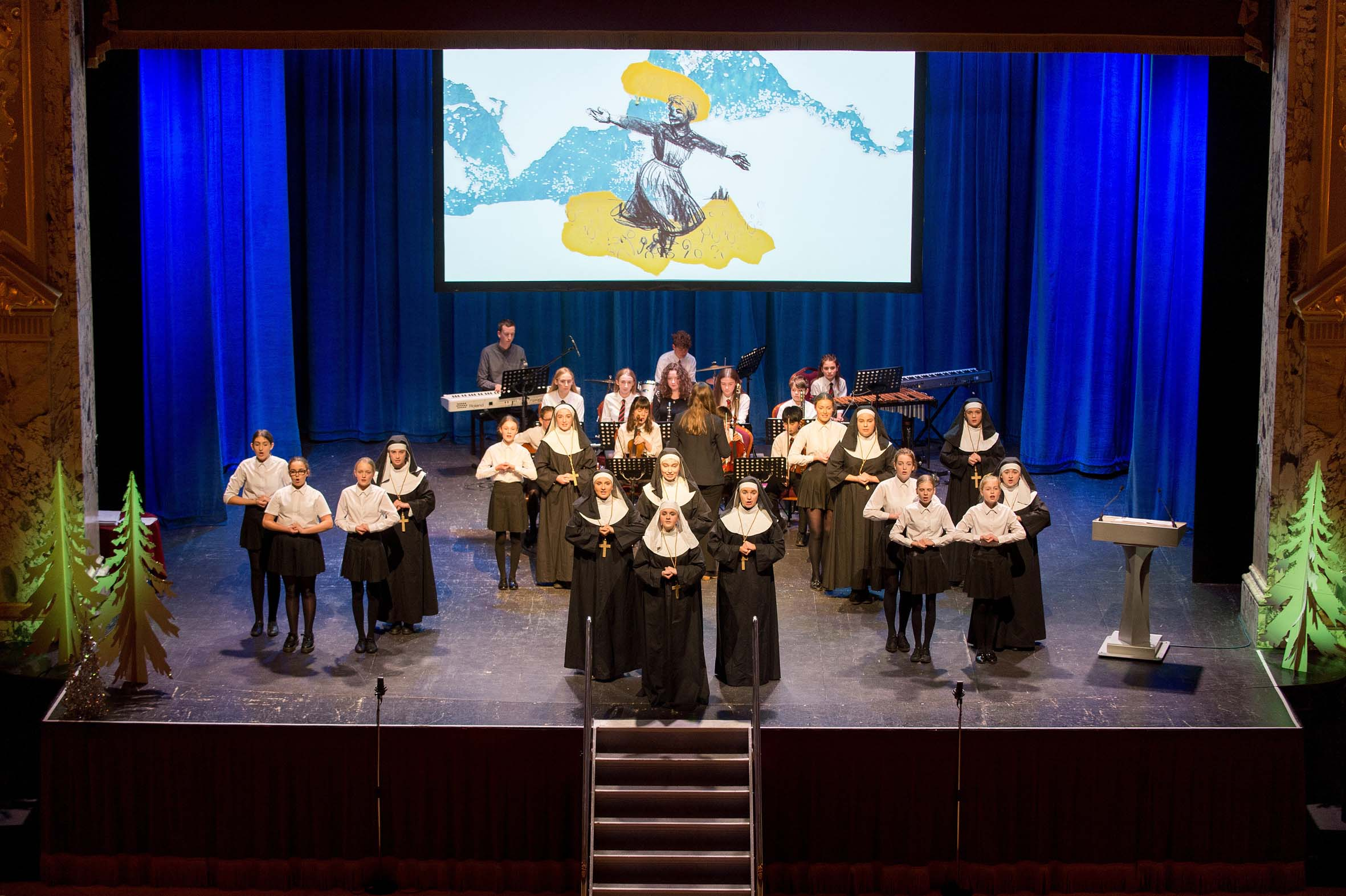 6. Extract from the forthcoming performance of the Sound of Music Harrogate Grammar