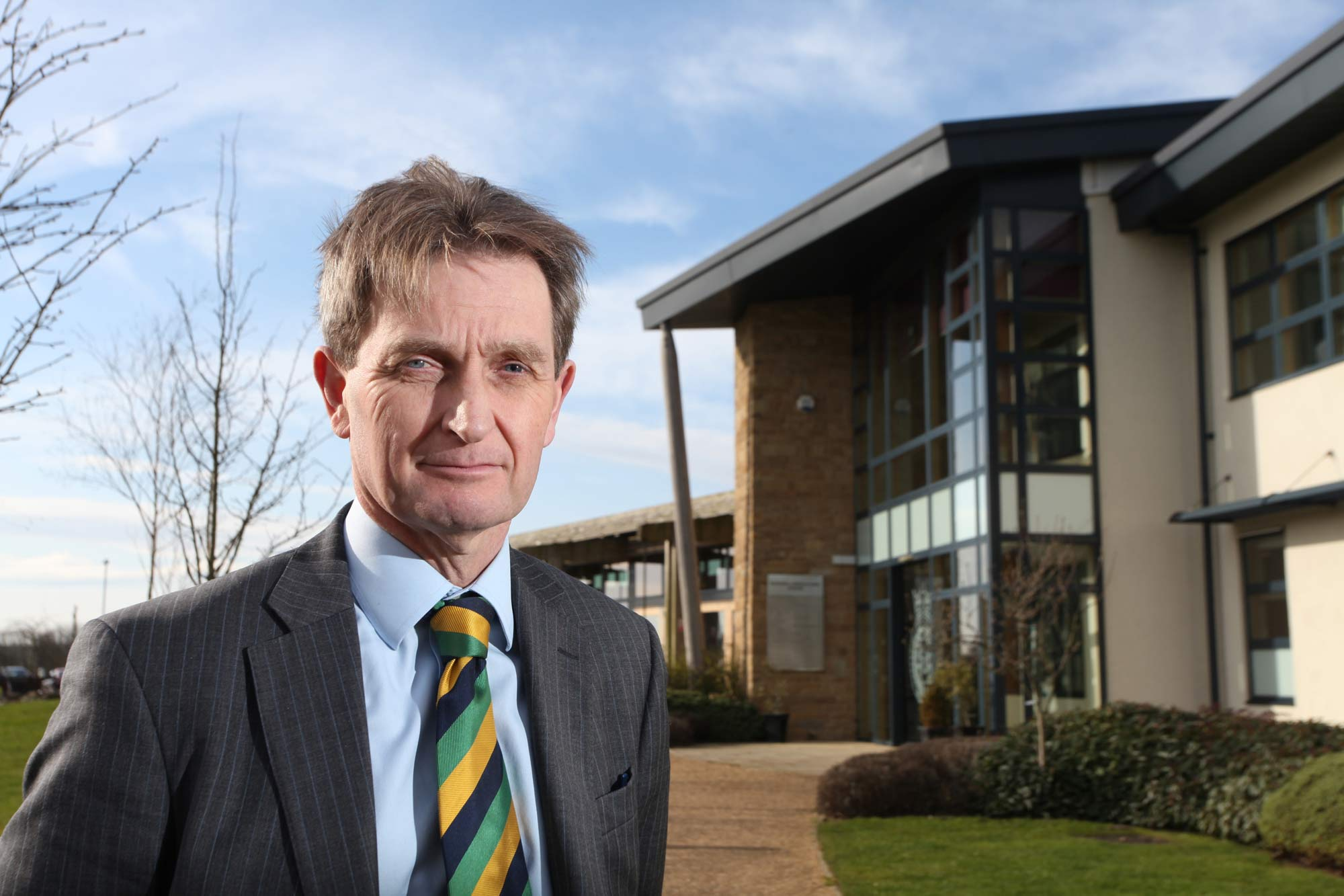 Nigel Pulling, chief executive of the Yorkshire Agricultural Society