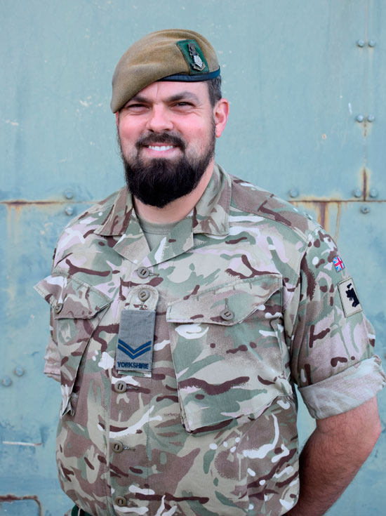 4 YORKS Corporal Muhammad Abu Qaoud from Mexborough