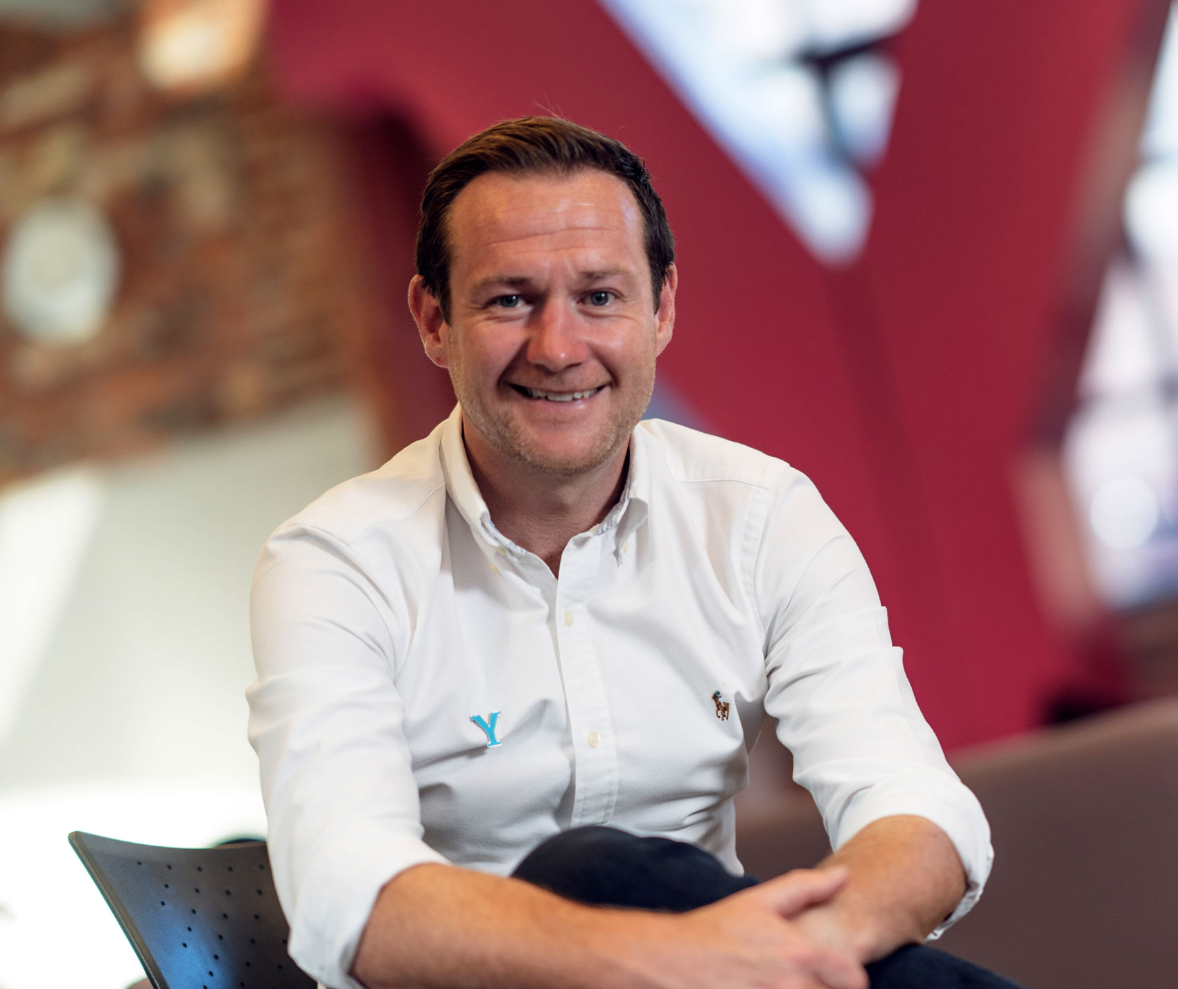 Welcome to Yorkshire Chief Executive James Mason