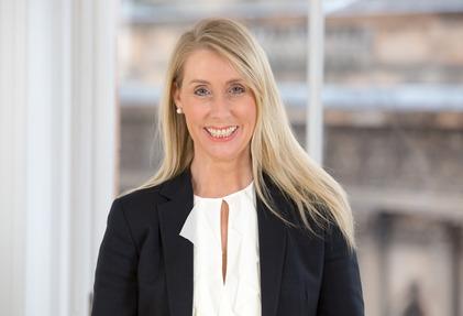 Debbie Crosbie, Chief Executive of TSB