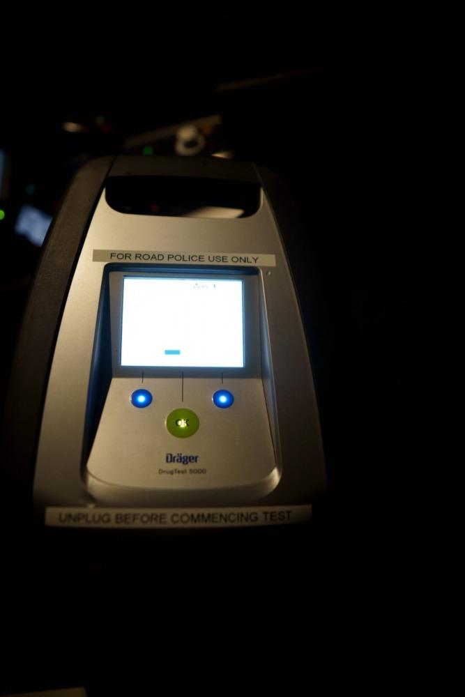 Drager drugs test machine