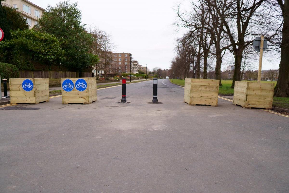 Barriers on Beech Grove, Harrogate