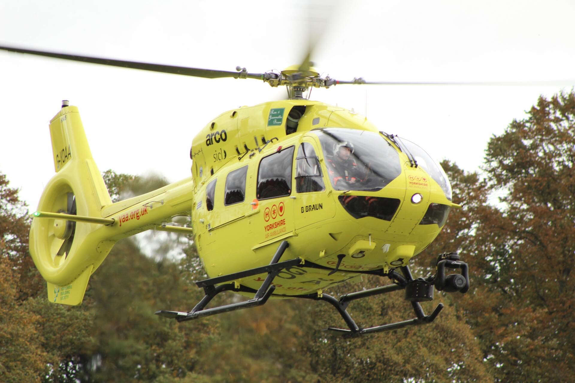 Heli – Air ambulance to the rescue