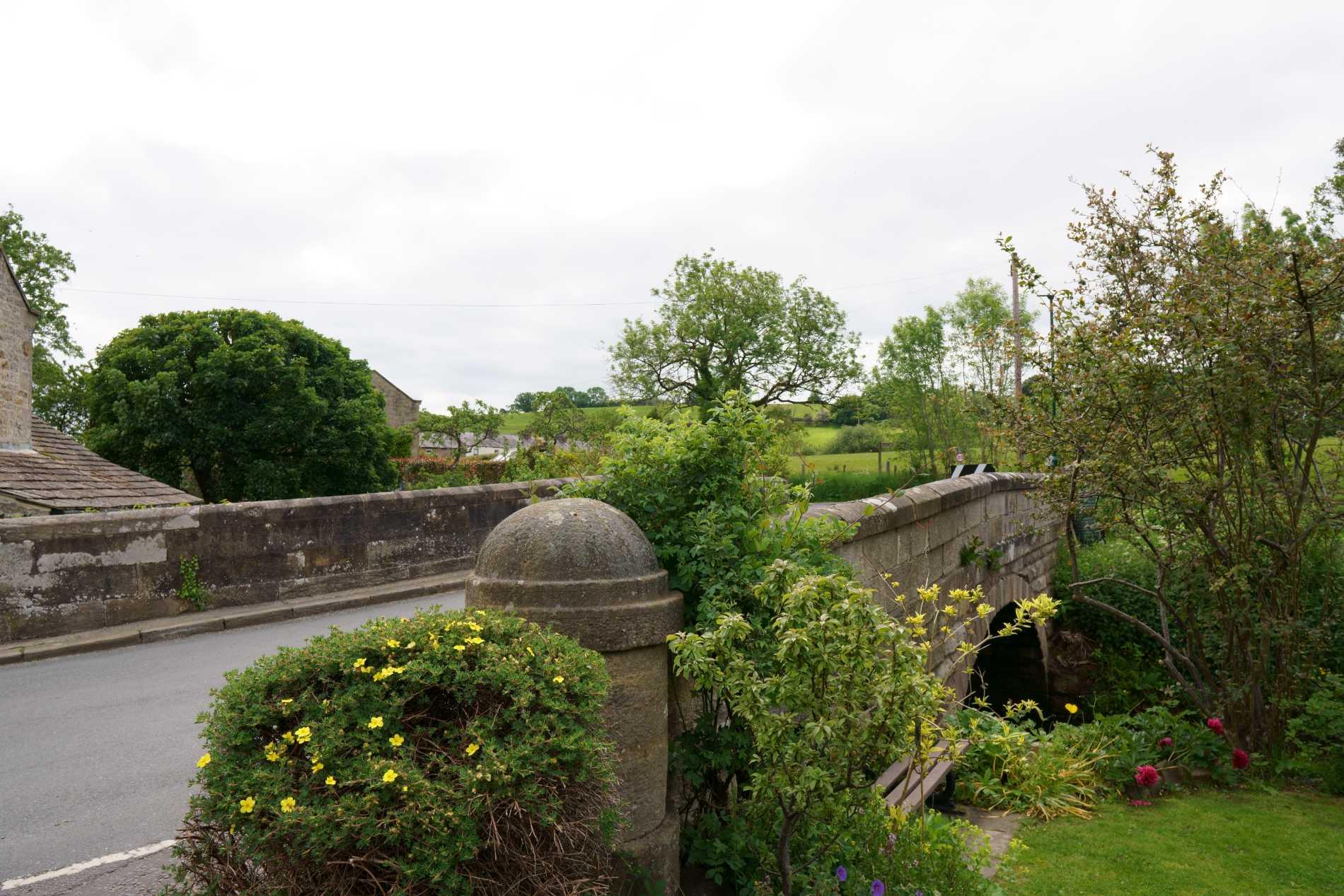 The bridge in Shaw Mills